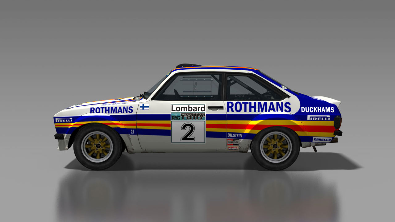 DiRT Rally Ford Escort Mk2 Ari Vatanen